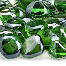 Buy American Fire Glass Shamrock Green Zircon Fire Glass| FREE Shipping