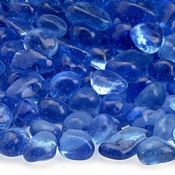 Buy American Fire Glass Sky Blue Eco Glass Beads| FREE Shipping