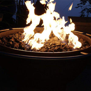 Bella Luna Wood & Gas Fire Pit - Home Fire Designs