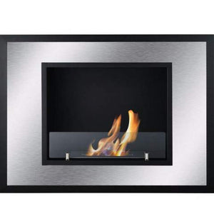Buy Bellezza Mini Wall Mounted / Recessed Ventless Ethanol Fireplace| FREE Shipping
