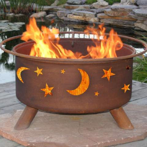 Buy Evening Sky Fire Pit Free Gifts! A $95 Value!!| FREE Shipping