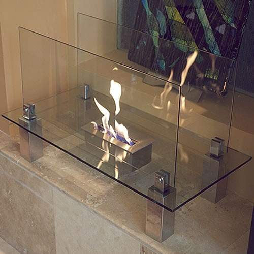 Buy Fiero Freestanding Ethanol Fireplace| FREE Shipping