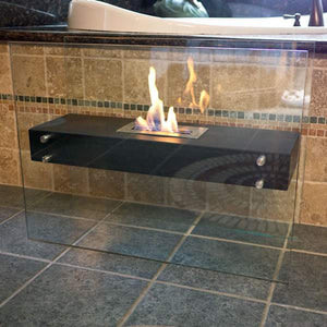 Buy Freestanding La Strada Ethanol Fireplace| FREE Shipping