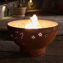 Funky Dog Wood & Gas Fire Pit - Home Fire Designs