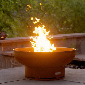 Low Boy Wood & Gas Burning Fire Pit - Home Fire Designs