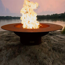 Magnum Wood & Gas Burning Fire Pit - Home Fire Designs