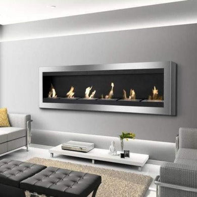 Buy Maximum Wall Mounted Ventless Ethanol FireplaceFREE Ethanol Fuel| FREE Shipping