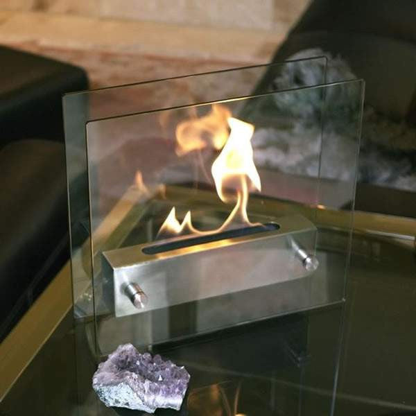 Buy Table Top Irradia Ethanol Fireplace| FREE Shipping