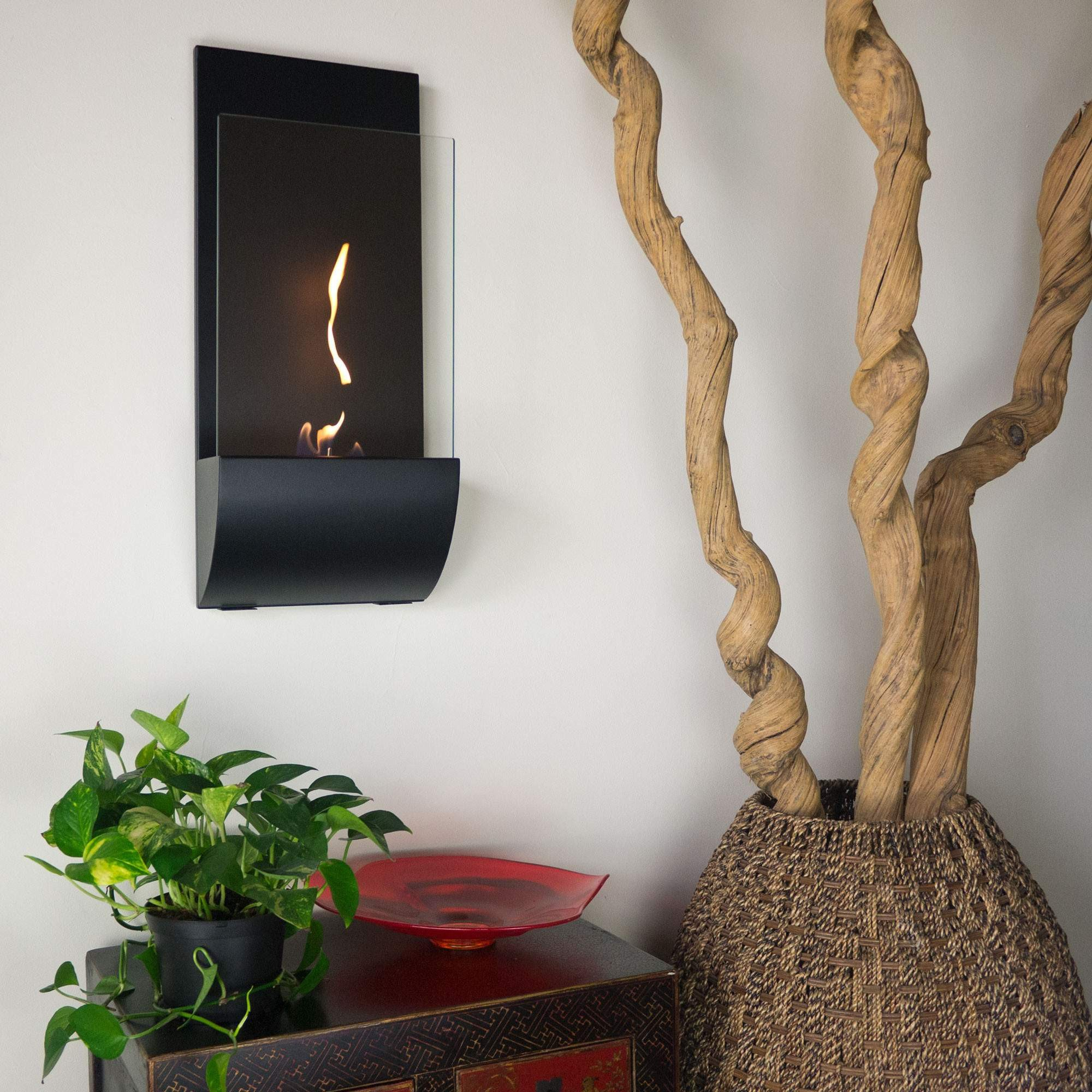ethanol decoflame new fireplaces pictures made ready mounted wall bio tower product bioethanol fireplace ae york