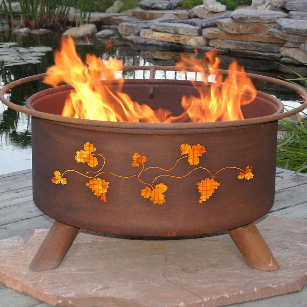 Buy Grapevines Fire Pit Free Gifts! A $95 Value| FREE Shipping