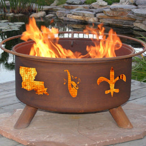 Buy Mardi Gras Fire PitFree Gifts! A $95 Value!!| FREE Shipping