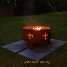 Buy Fleur-de-Lis Fire Pit Free Gifts! A $95 Value!!| FREE Shipping