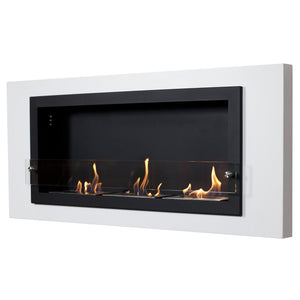 Buy Camino Bianco Wall Mounted Fireplace| FREE Shipping