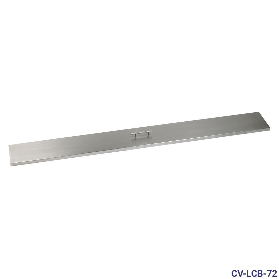 Buy Stainless Steel Cover for Linear Drop-In Fire Pit Pan| FREE Shipping