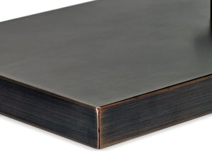 Oil Rubbed Bronze Rectangular Stainless Steel Cover