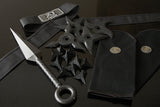Ninja Rubber Shuriken, and Ninja Accessories Set