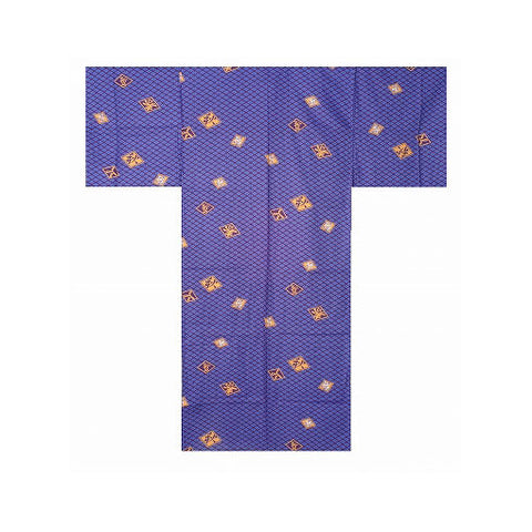 Men's Yukata: Diamond Pattern