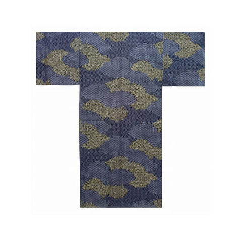 Men's Yukata: Clouds