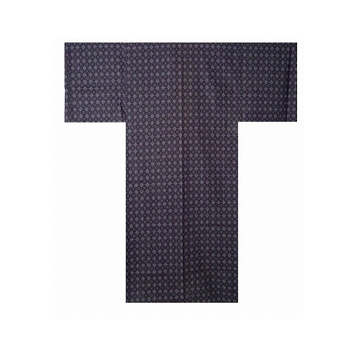 Men's Yukata: Argyle Pattern
