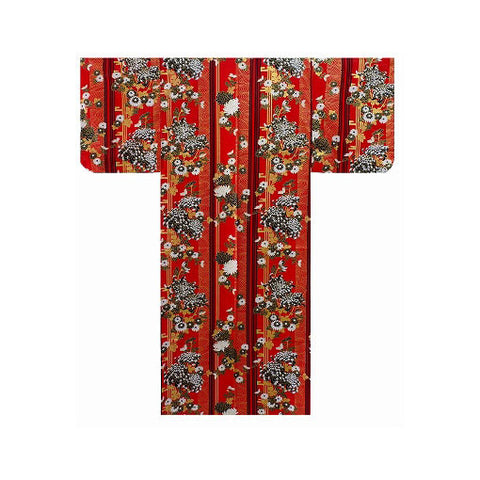 Ladies Yukata: Blooming Chrysanthemum