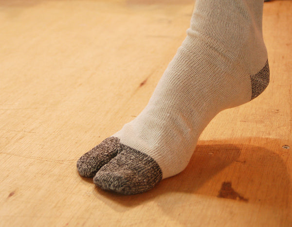 Tabi Socks for Jika-Tabi shoes 100% Cotton