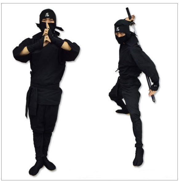 Perfect Ninja Suit Set (for Adult)・Black