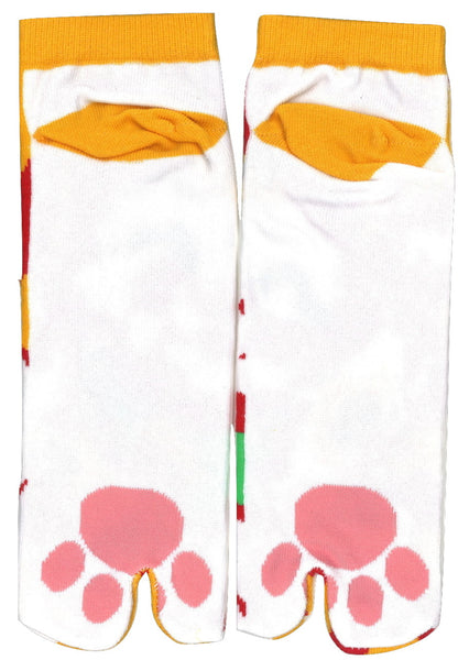 Shinobiya Original Tabi Socks: Lucky Cat