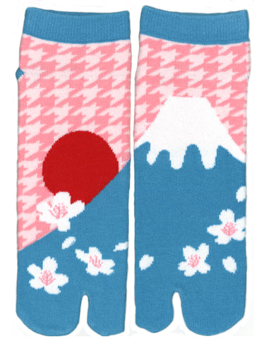 Shinobiya Original Tabi Socks: Mount Fuji