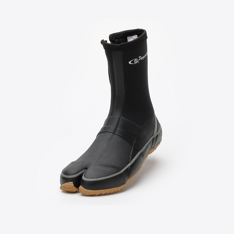 Marugo Pro Guard Rain #01 Water-resistant Safety Tabi Boots with fastener and resin toe