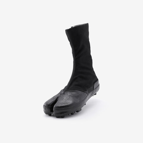 Marugo Spike Tabi Boots 10 Clips All Black