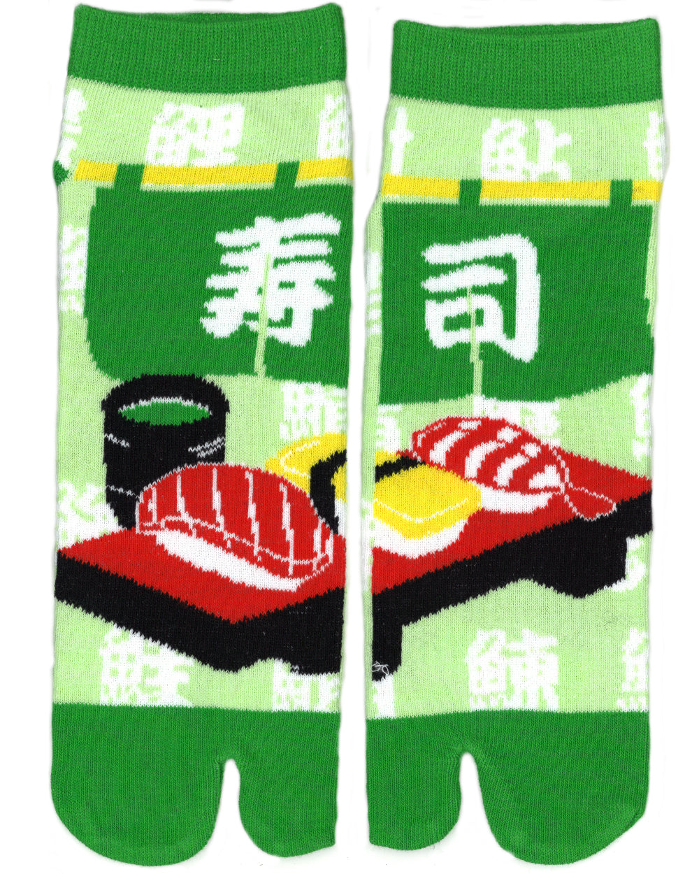 Shinobiya Original Tabi Socks: Sushi