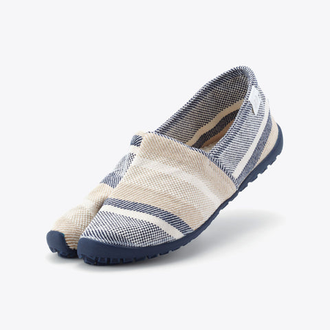 Marugo Tabirela Beige/Blue (Umi - Sea) Slipper Made in Japan
