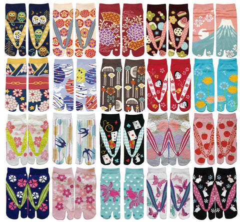 Japanese Tabi Socks: Ladies' Sneaker