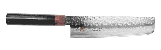 SETO Damascus Usuba Kitchen Knife 180mm (7 inches) I-Series