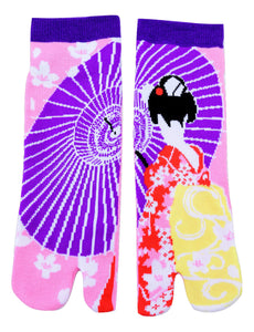 Shinobiya Original Tabi Socks: Maiko