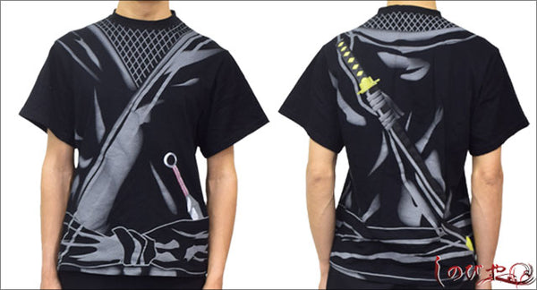 Printed Ninja T-shirt・Shinobiya Original Design