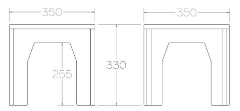 Plyhome Stool Dimensions