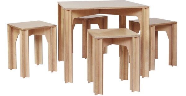 Designer Kids Furniture -The Plyhome Junior Table Set