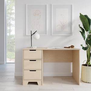 The Plyhome 3 Drawer Desk