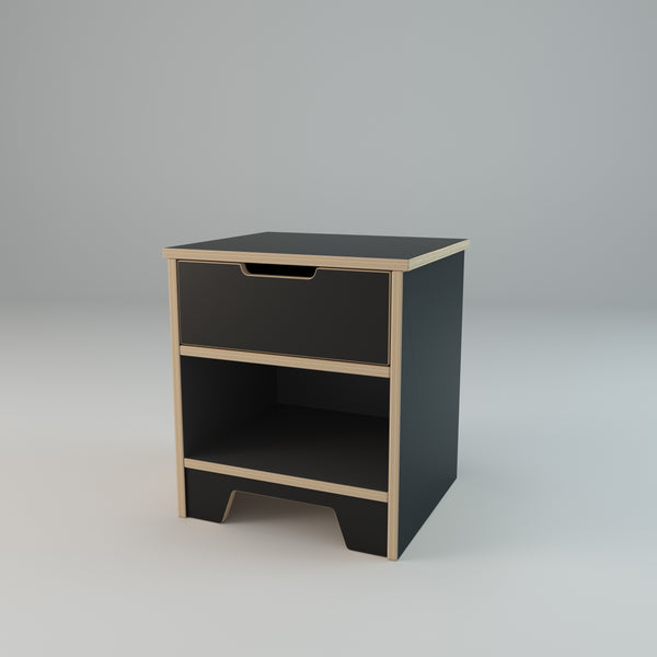 The Plyhome 1 Drawer Bedside