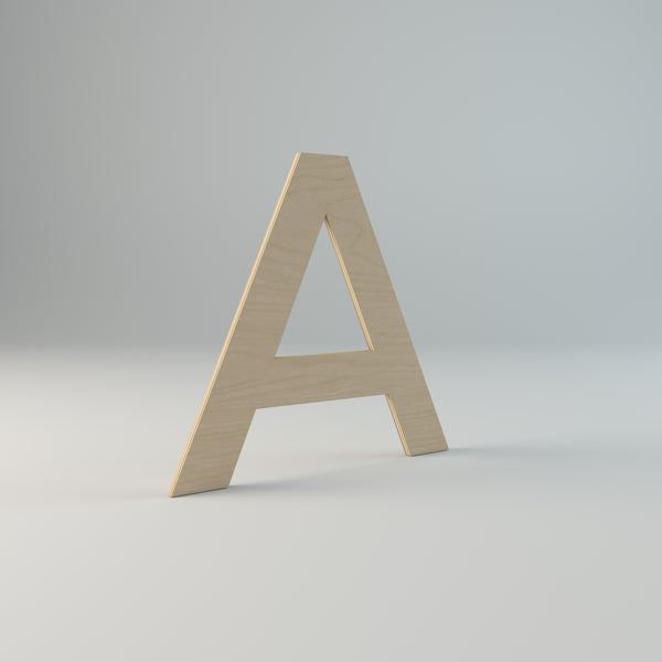 The Plyhome Large Letter (A - N)