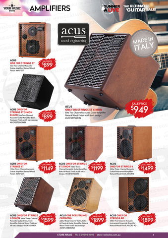 Acus Acoustic Amps