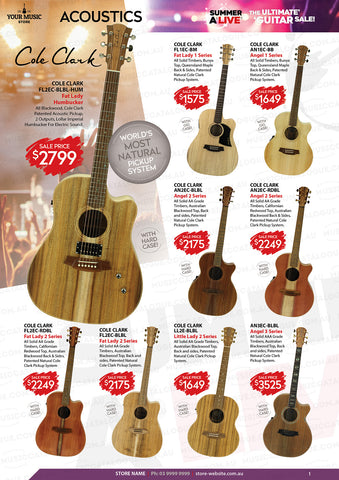 Cole Clark Guitars