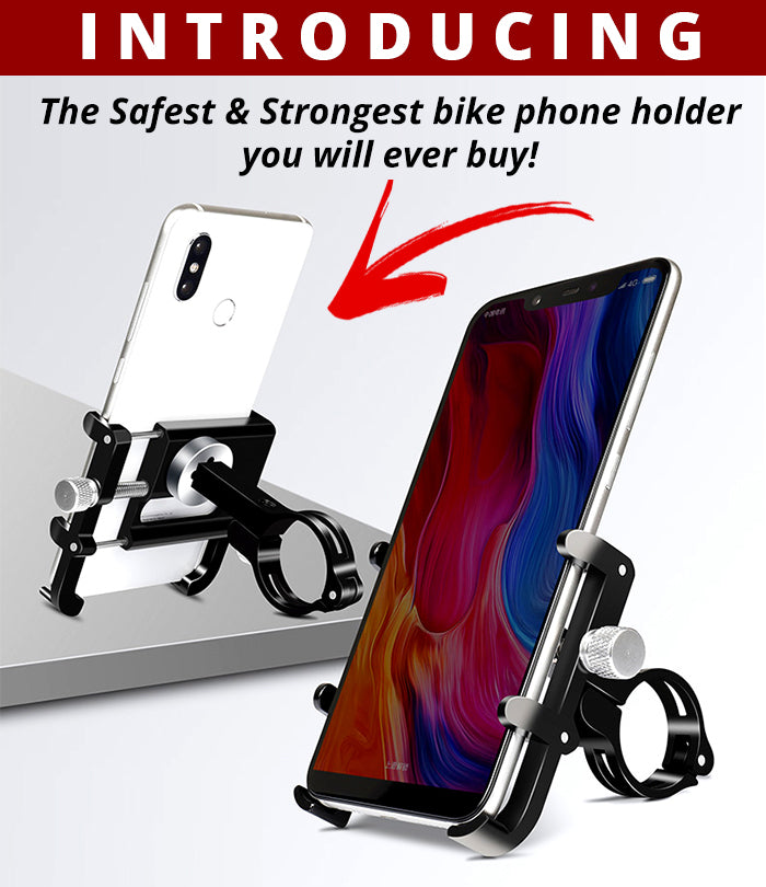Strongest Aluminium Alloy Mobile Phone Stand - 360° Rotation
