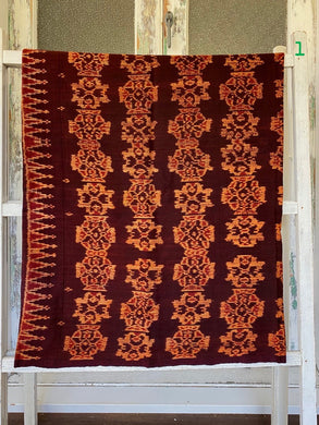 Handwoven Vintage Ikat Wall Hanging