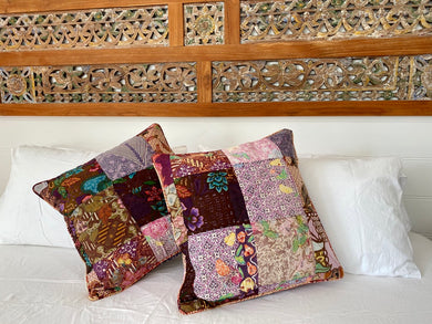 Vintage Batik Cushion Covers 45x45