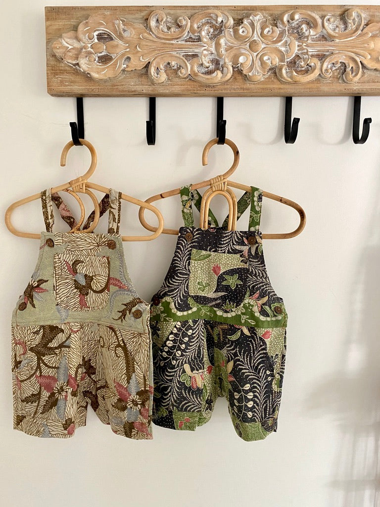Kids Unisex Batik Overalls Size 1 ~ SOLD OUT