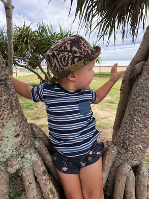 Toddler Batik Bucket Hat