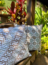 Hand Stamped Batik Cushion Covers