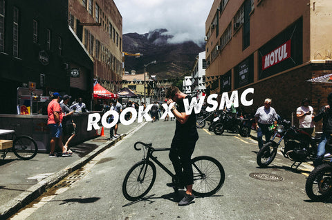 Rook Cycles x Woodstock Moto Co